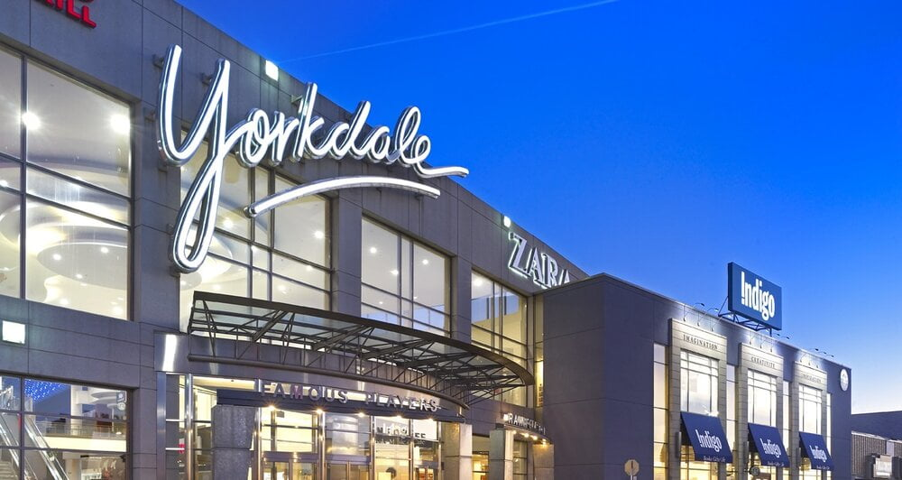 Exterior of Yorkdale Shopping Centre - Photo by Yorkdale Shopping Centre