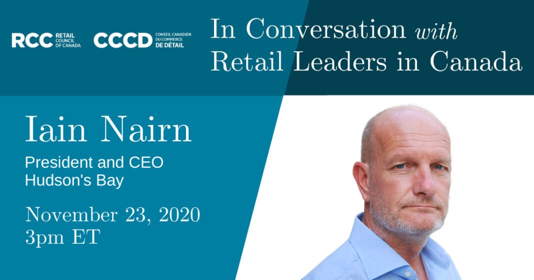 RCC banner 'In Conversation with Retail Leaders in Canada'