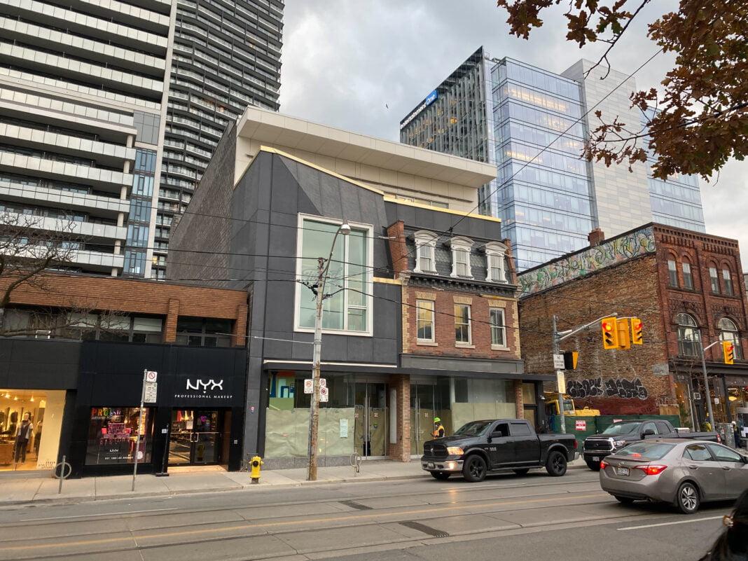 NYX store on Toronto's Queen Street. Photo: Dustin Fuhs
