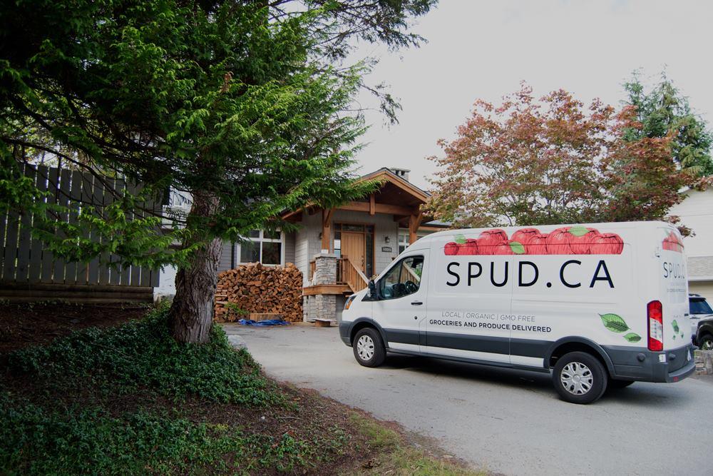 SPUD delivery van. Photo: SPUD