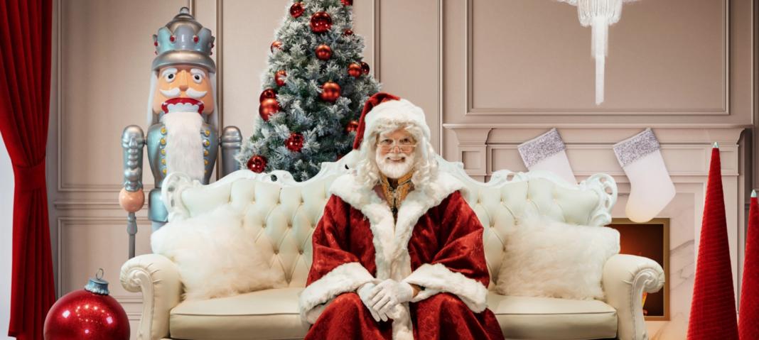 Bayview Village virtual Santa Clause. Photo: Bayview Village