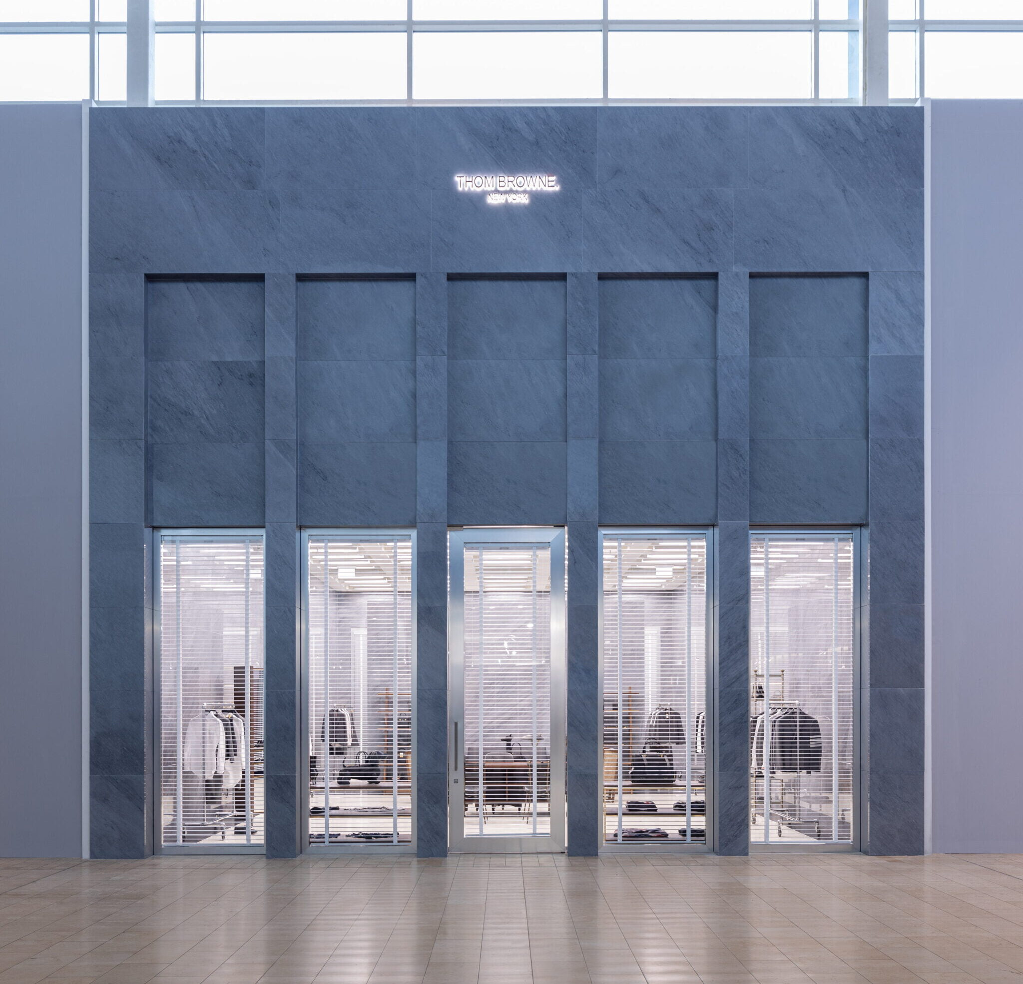 Exterior of Thom Browne store in Yorkdale Shopping Centre. Photo: Thom Browne