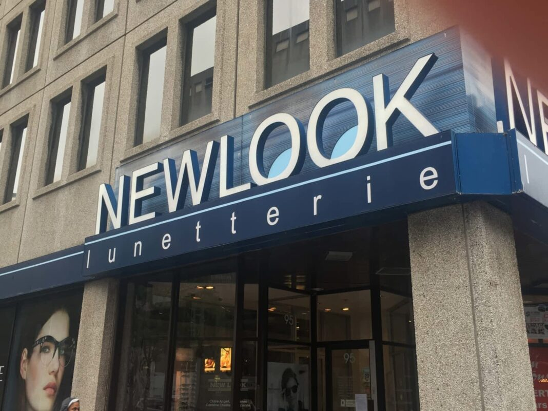 New Look Vision location on Montreal's Rue Sainte Catherine. Photo: New Look Vision
