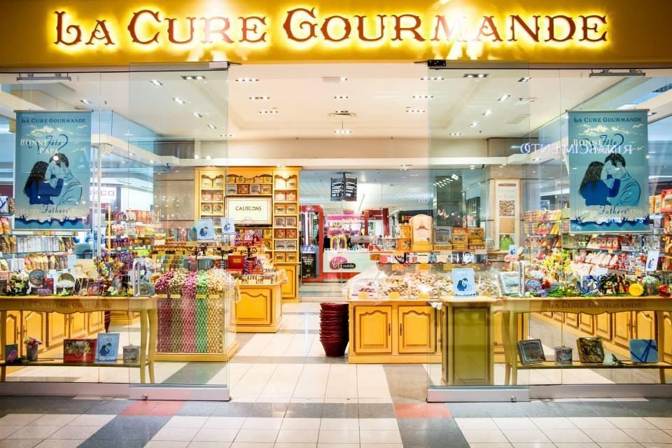 EXTERIOR OF LA CURE GOURMANDE STORE. PHOTO: LA CURE GOURMANDE