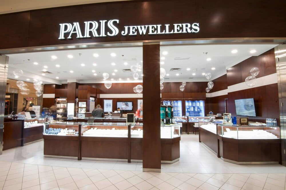 PARIS JEWELLERS IN NORTH HILL CENTRE MALL, CALGARY. PHOTO: PARIS JEWELLERS