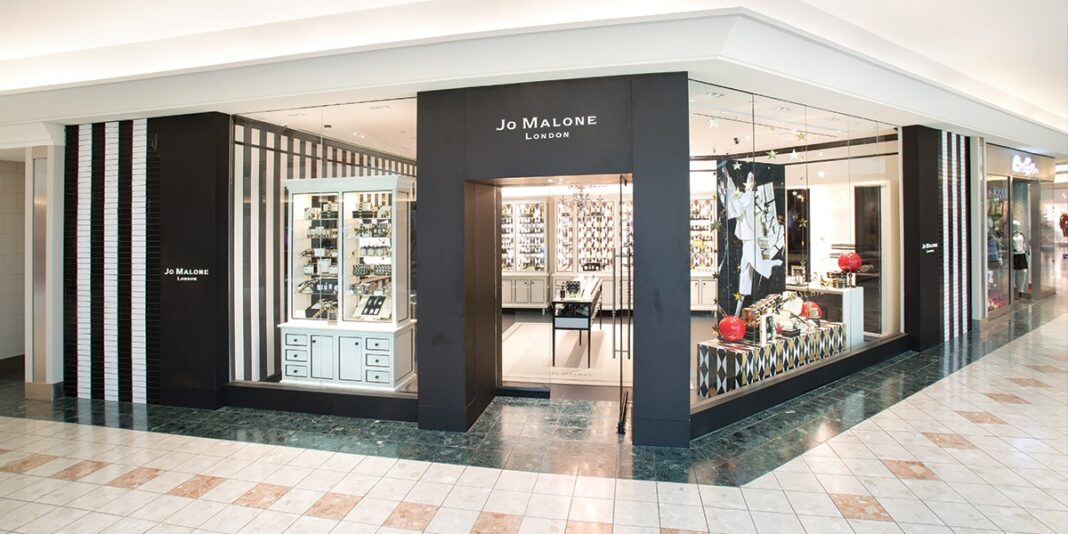 Jo Malone standalone store in The Gardens Mall in London. Photo: The Gardens Mall