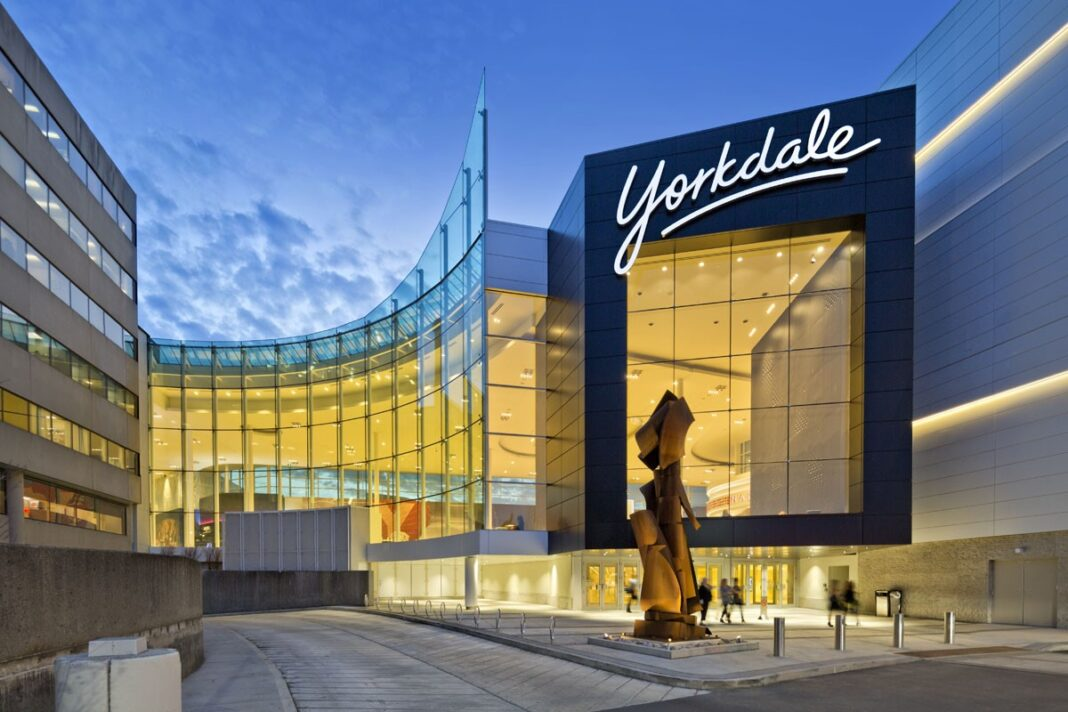 Exterior of Yorkdale Shopping Centre. Photo: Yorkdale