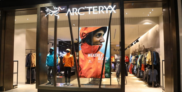 Arc'teryx store in Toronto's Yorkdale Shopping Centre. Photo: Arc'teryx