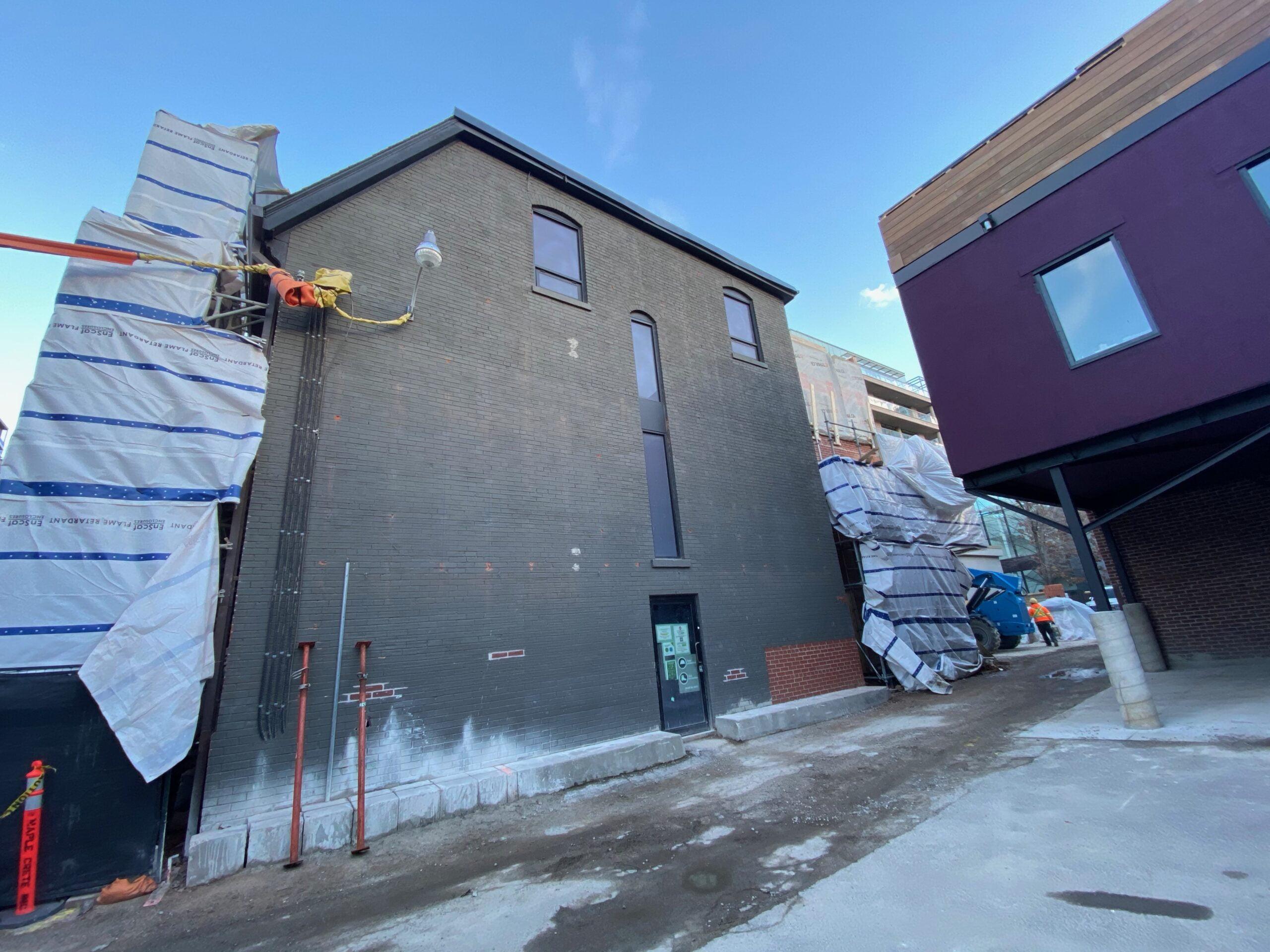 Construction beginning at 121 Scollard Street. Photo: Craig Patterson