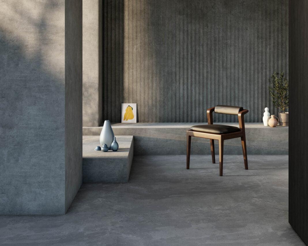 Interior of SOUK Habitat showcasing the participating designers. Photo: Alex Lesage