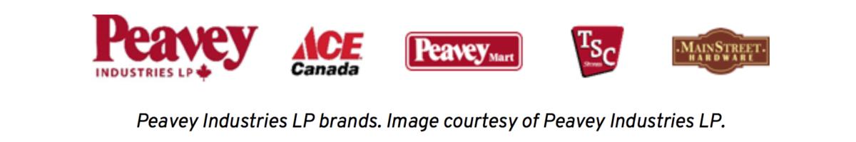 Peavey Industries LP logos