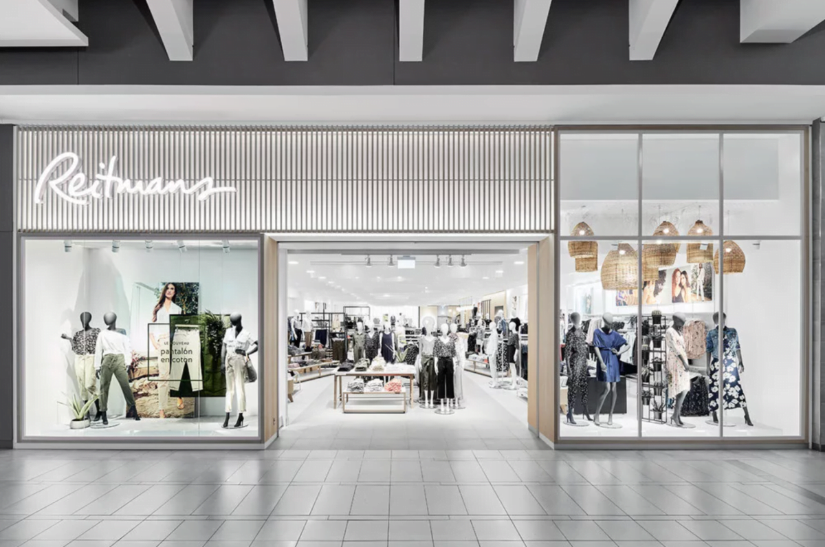 Reitmans' New CF Carrefour Laval boutique - Photo by Reitmans