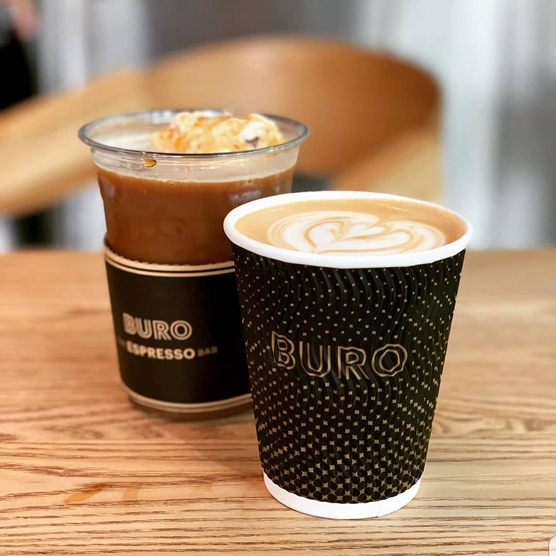 Buro The Espresso Bar beverages. Photo: Buro The Espresso Bar