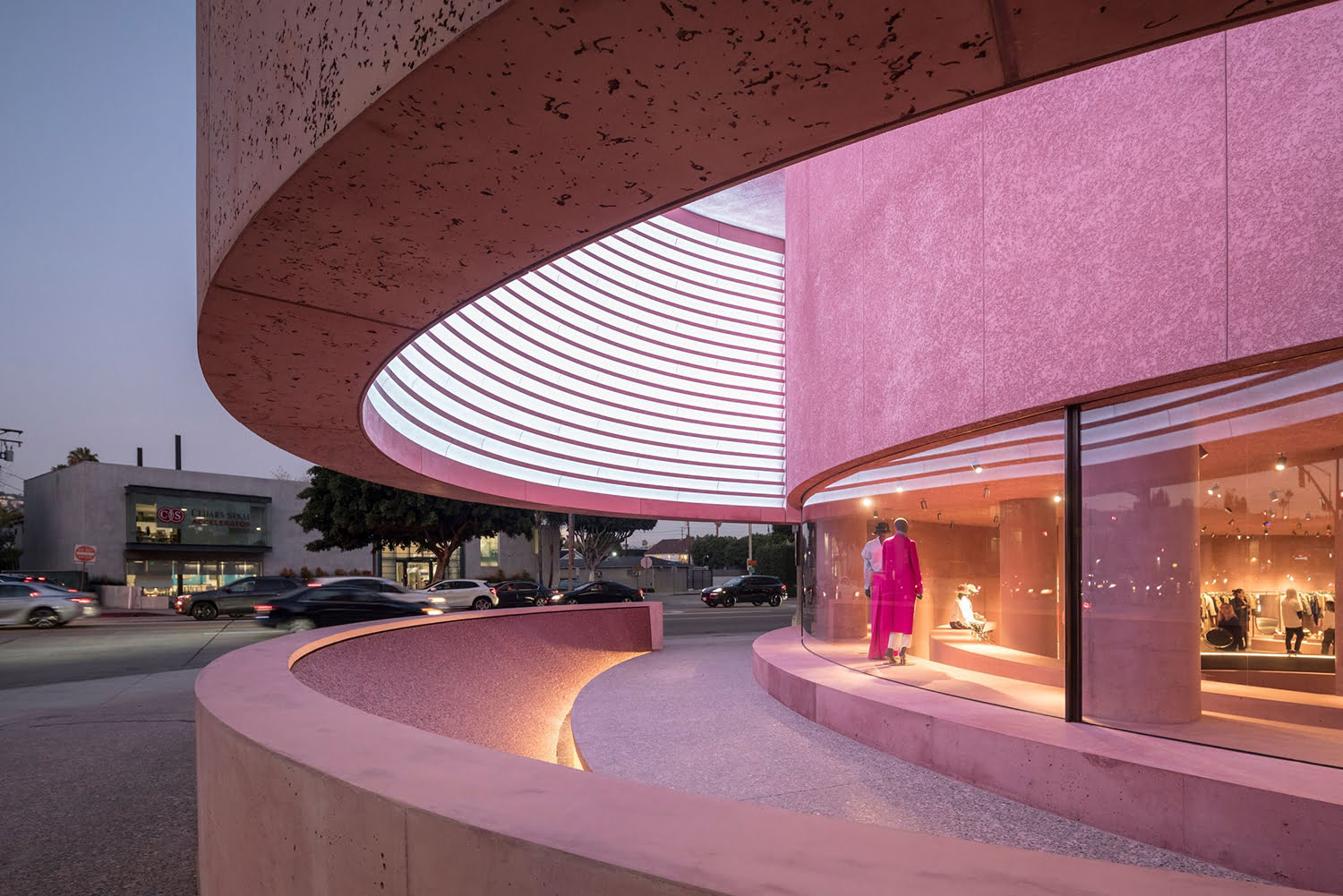 Exterior of The Webster flagship in Los Angeles. Photo: The Webster