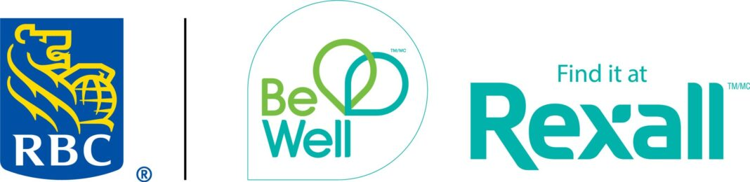 RBC, Rexall and Be Well Logo (CNW Group/RBC Royal Bank)
