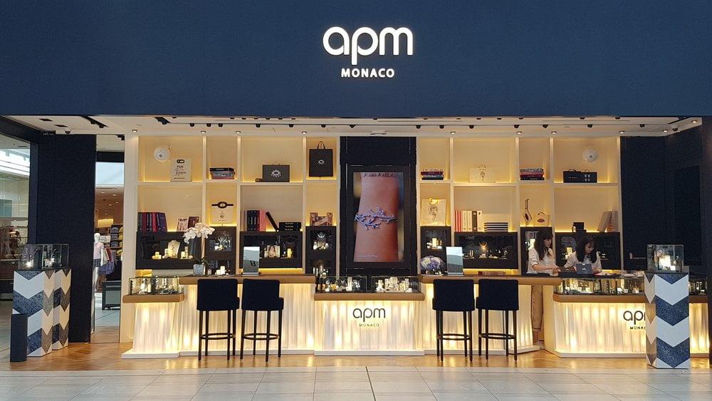 APM Monaco storefront at the CF Richmond Centre. Photo: Ritchie Po