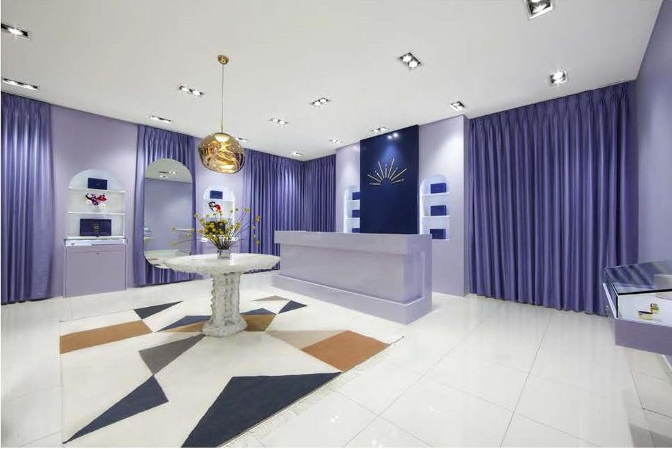 Interior of Yorkville Couple Diamonds store. Photo: Toronto Life
