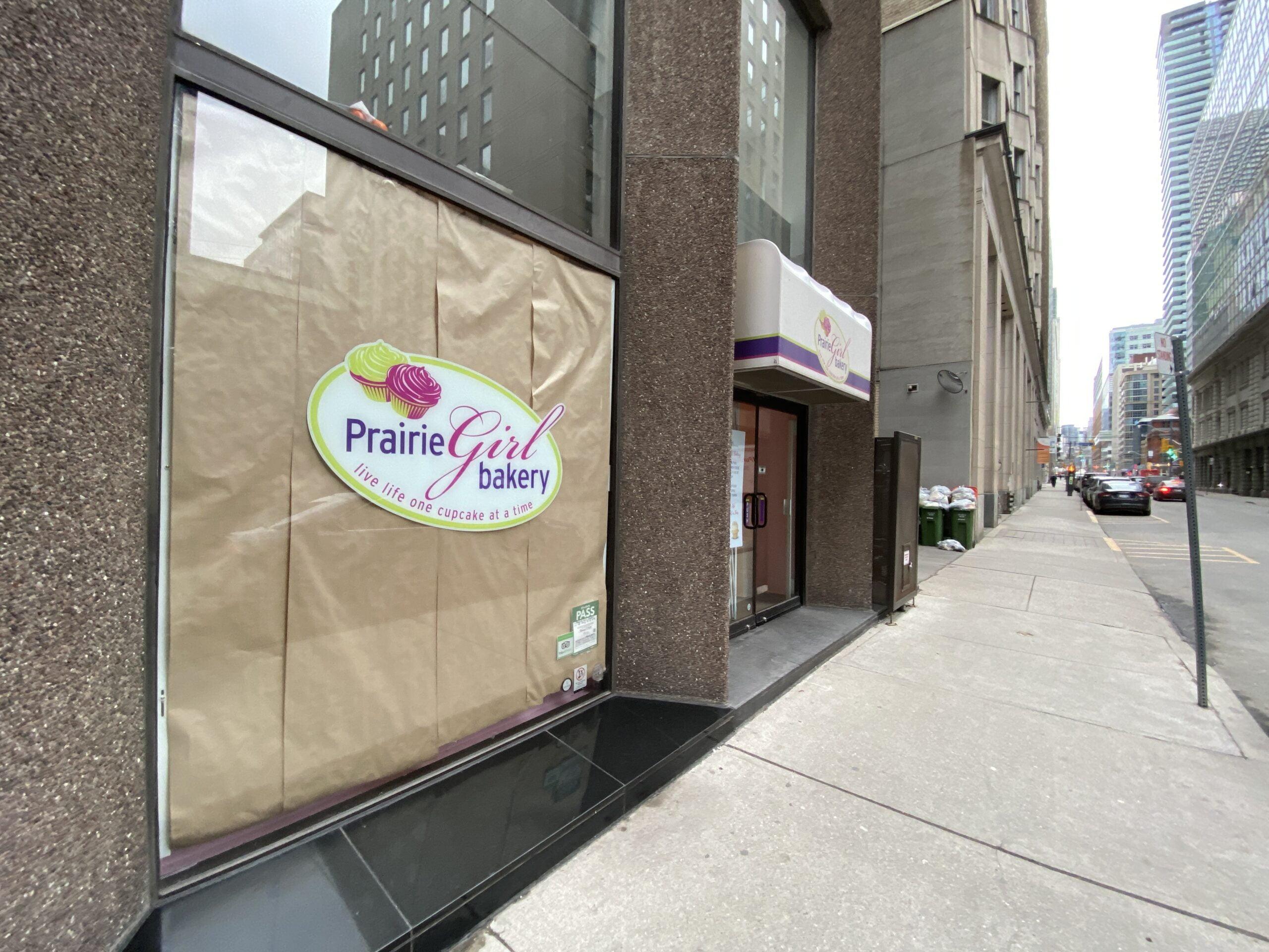 Shuttered Prairie Girl Bakery in Toronto. Photo: Dustin Fuhs