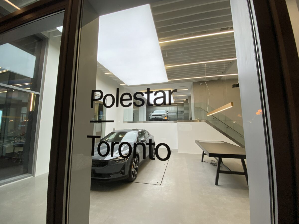 Exterior of Polestar in Toronto. Photo: Craig Patterson