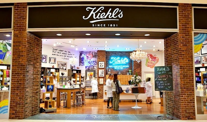 Kiehl's store at CF Carrefour Laval. Photo: Retail Insider
