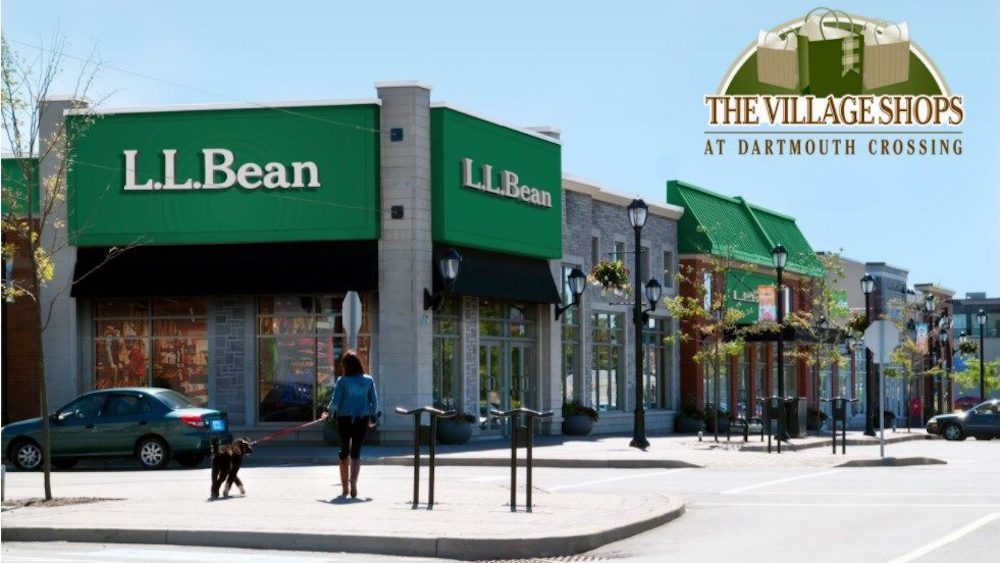 L.L. Bean at Dartmouth Crossing. Image: North American Development Group