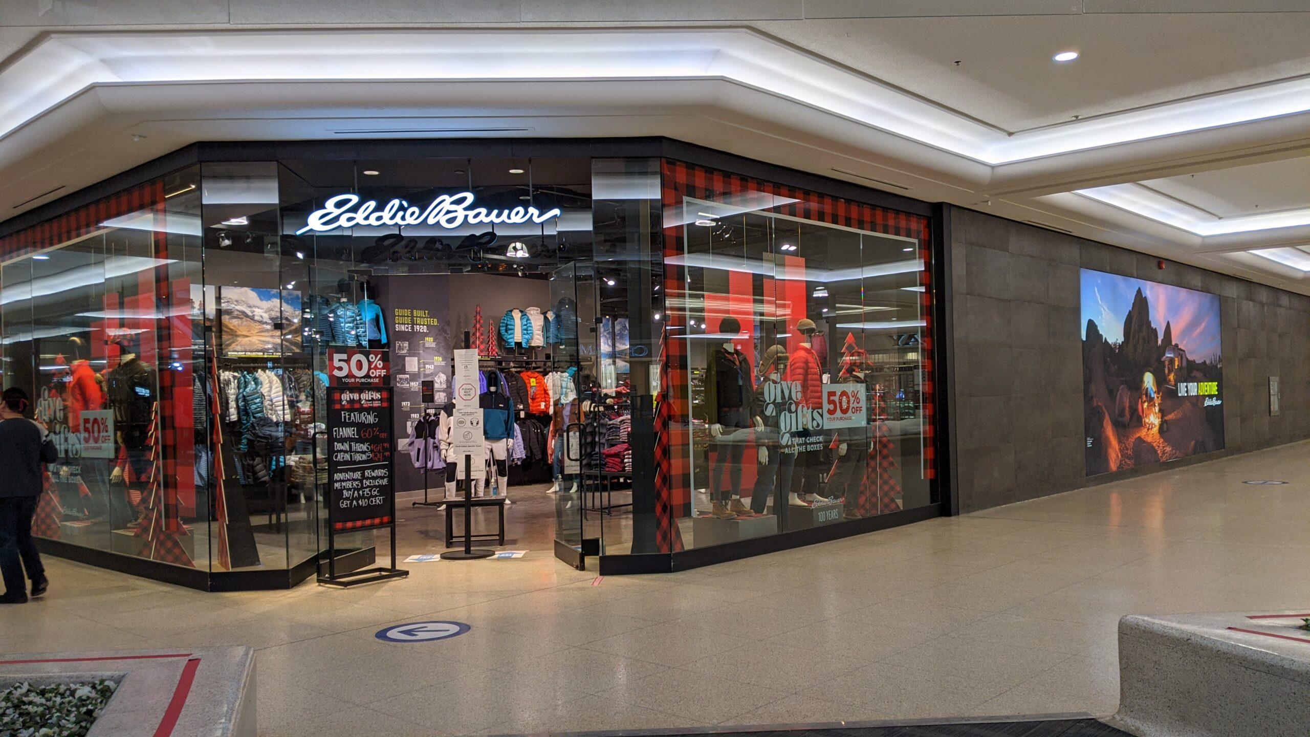 Eddie Bauer at West Edmonton Mall