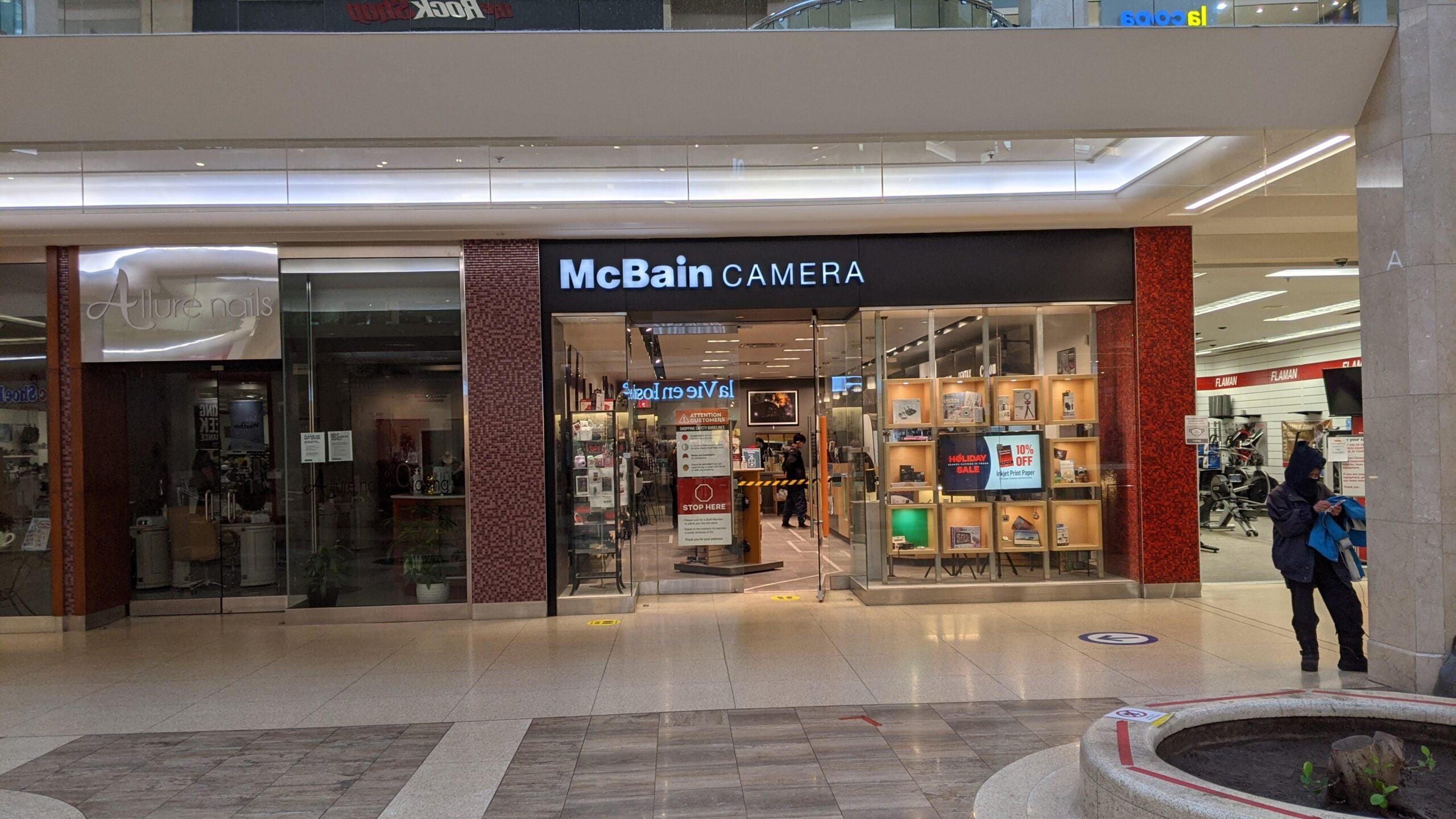 McBain Camera at West Edmonton Mall
