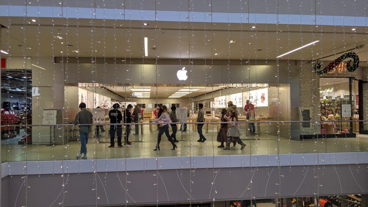 Apple Store at West Edmonton Mall