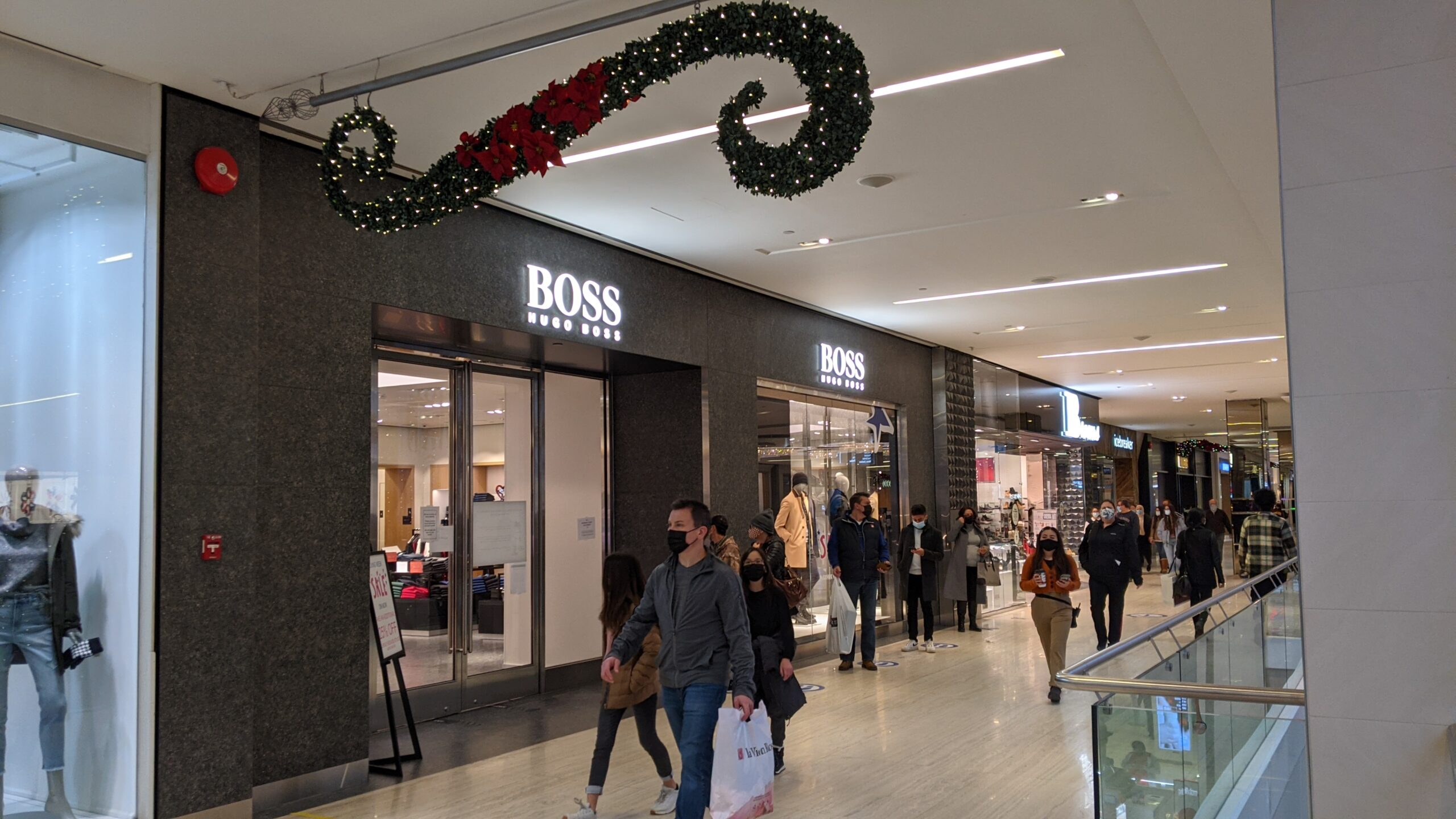 Hugo Boss at West Edmonton Mall