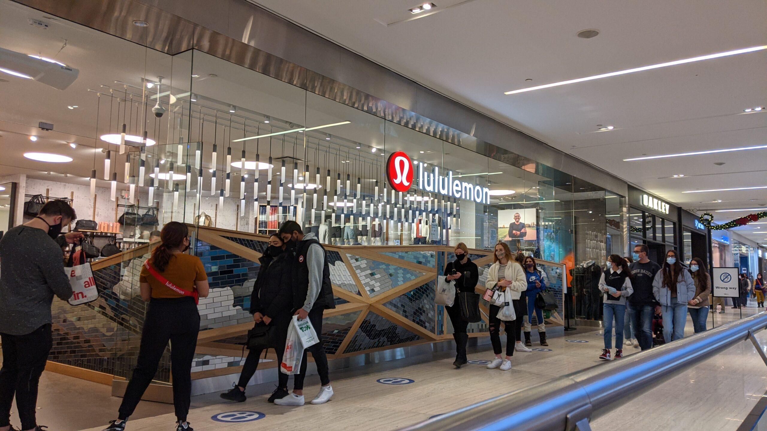 Lululemon at West Edmonton Mall