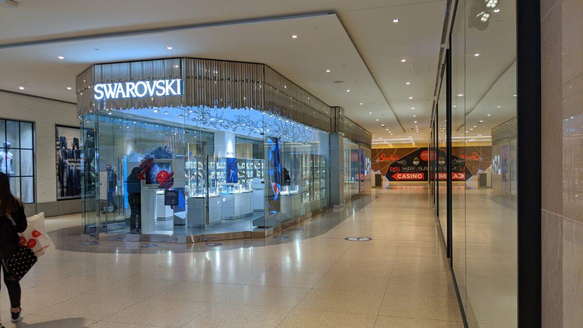 Swarovski at West Edmonton Mall