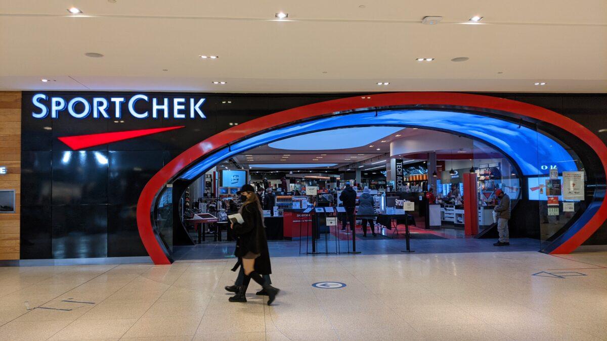 Sport Chek at West Edmonton Mall