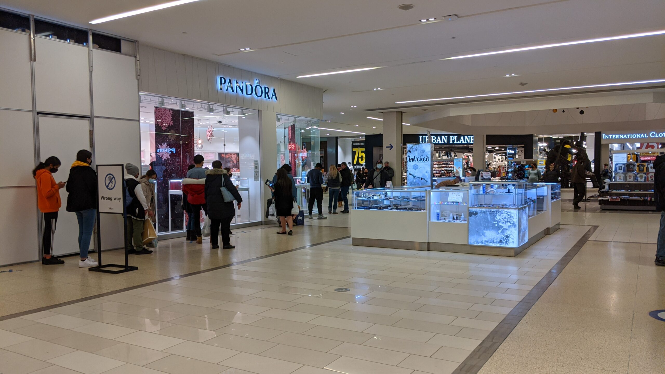 Pandora at West Edmonton Mall