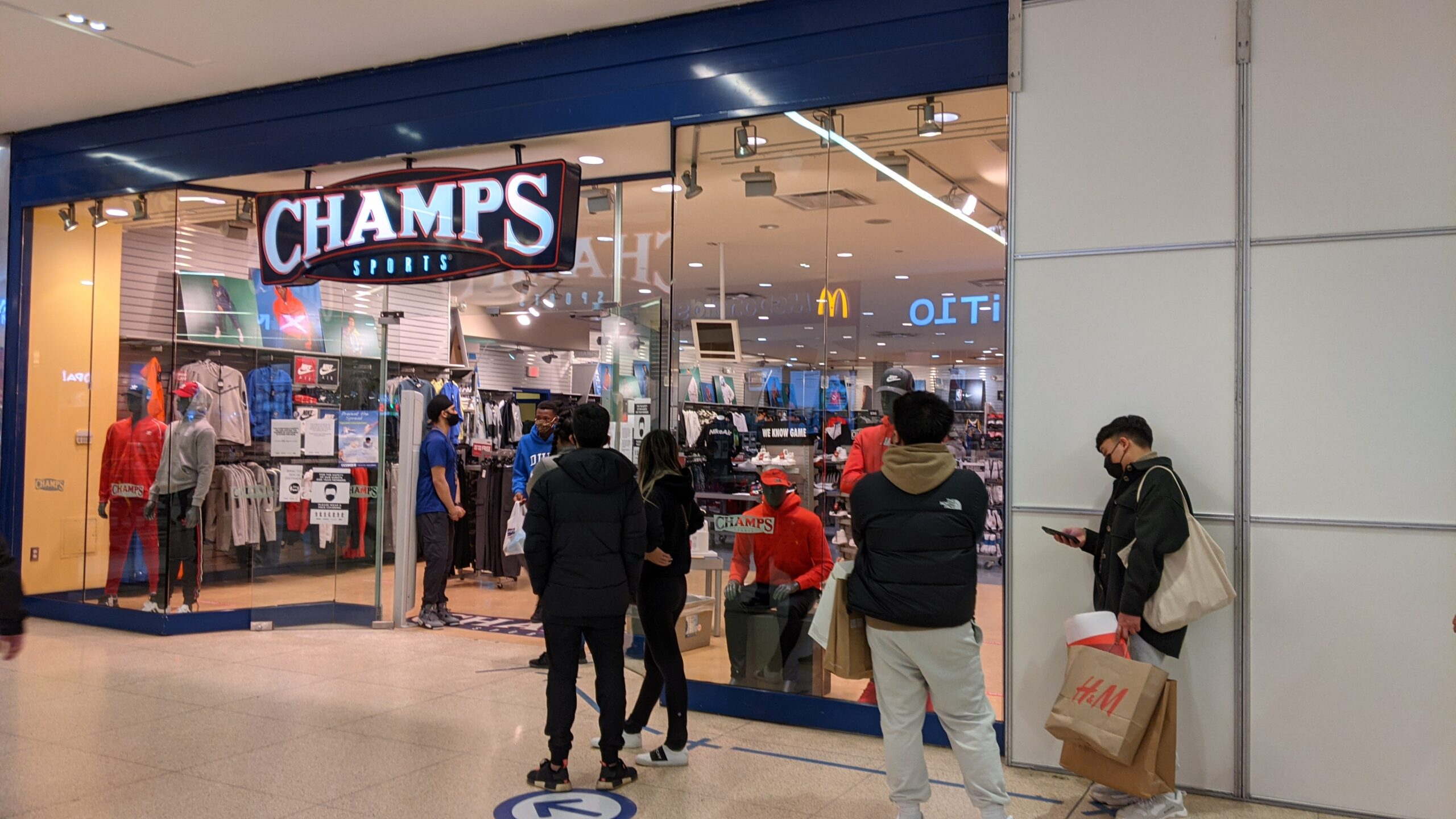 Champs Sports at West Edmonton Mall