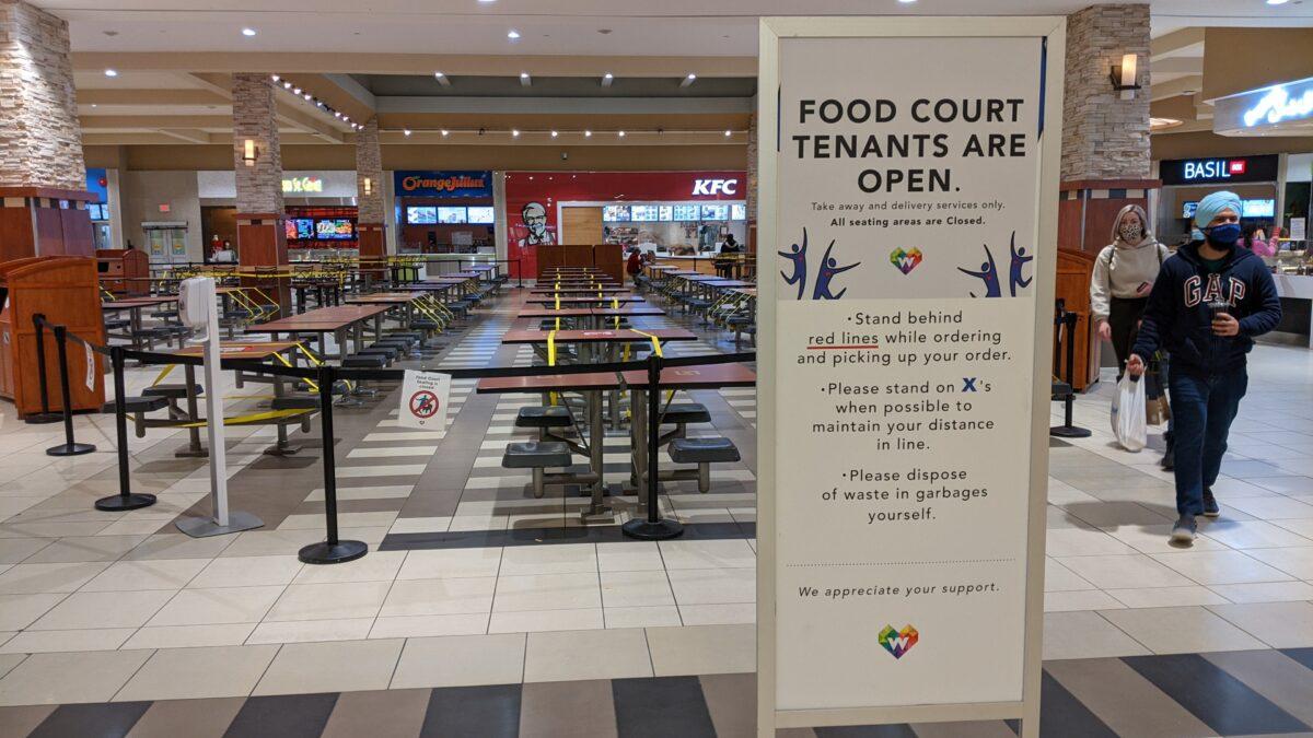 Food Court at West Edmonton Mall