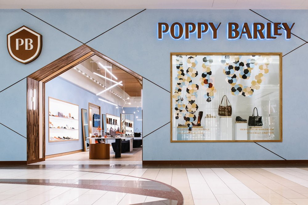Poppy Barley flagship in Edmonton. Photo: Poppy Barley