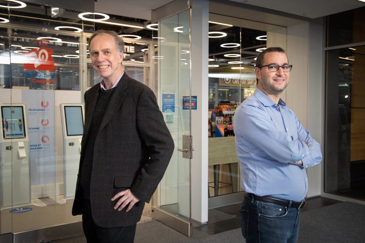 Professor James Clark (left) & Professor Maxime Cohen (right)