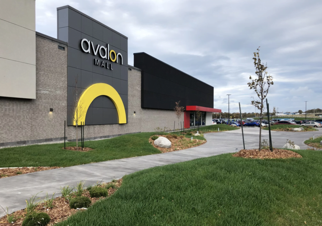 Avalon Mall – January 2020 (Photo Crombie REIT)