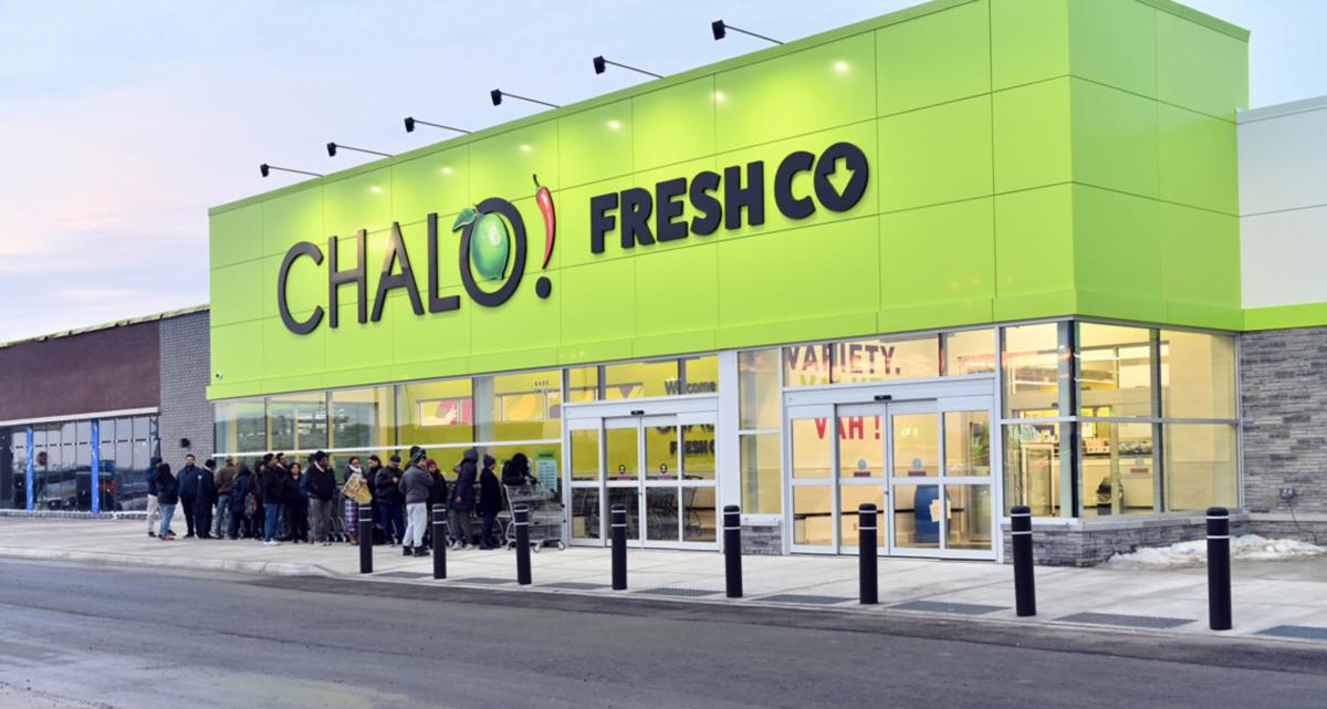 Exterior of Chalo FreshCo. Photo: Chalo FreshCo