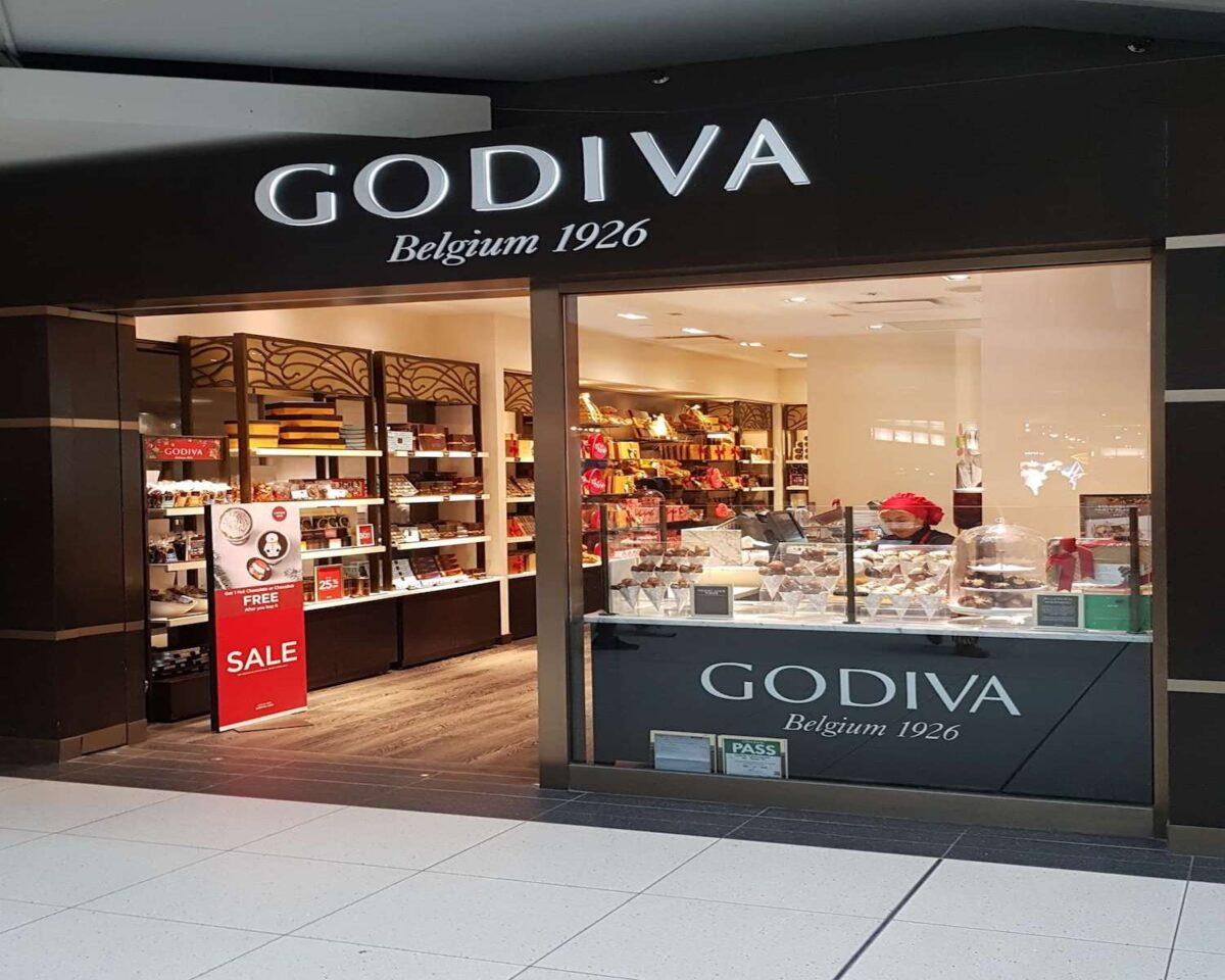 Godiva store at the CF Toronto Eaton Centre. Photo: Zomato