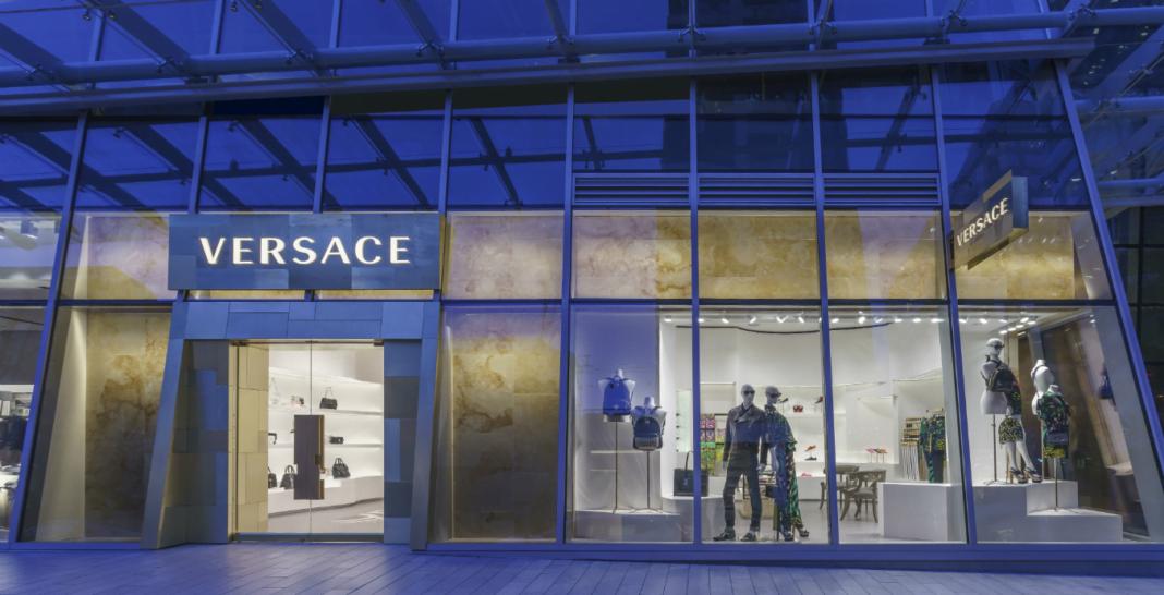 Exterior of Versace store in Vancouver. Photo: Montecristo Magazine