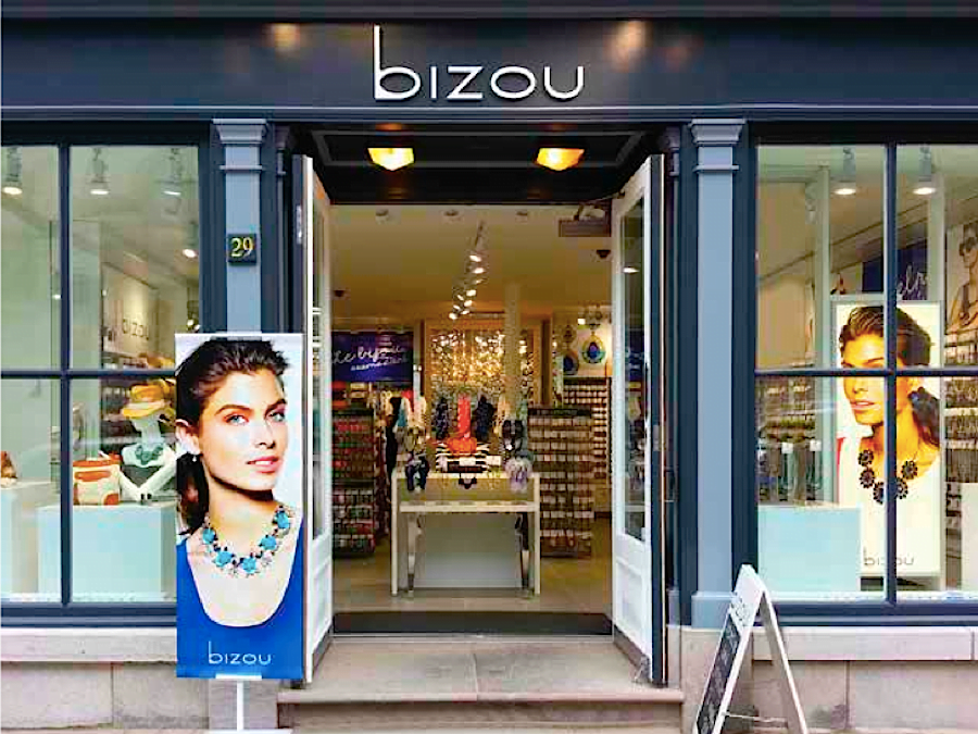 Exterior of Bizou store. Photo: Bizou