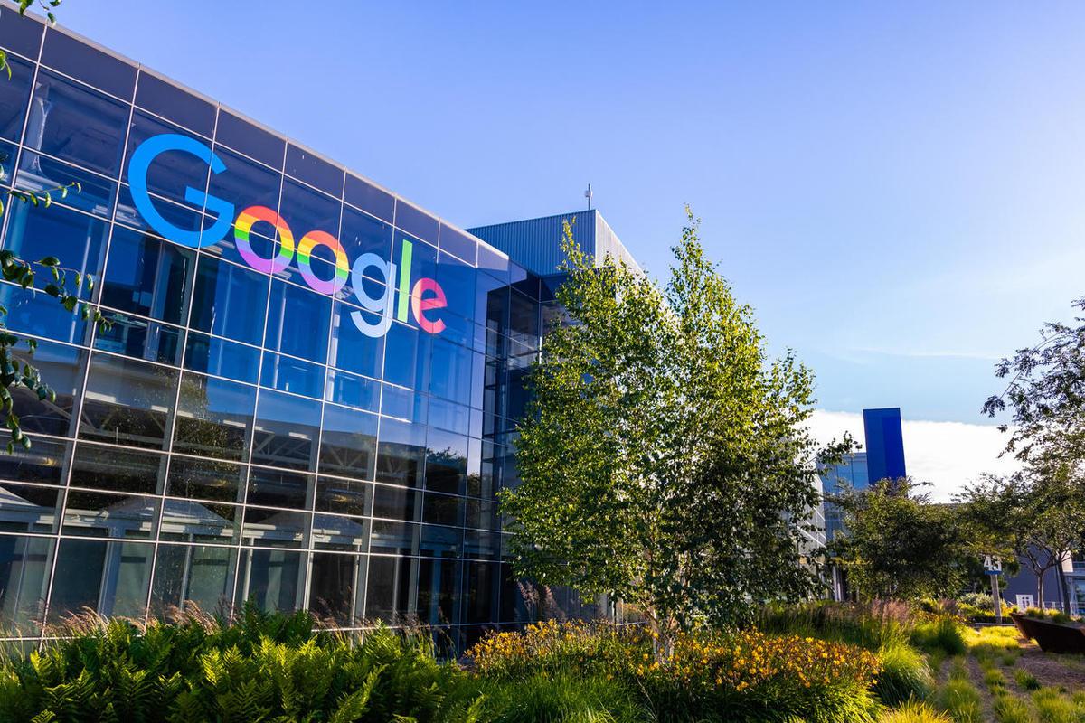 Exterior of Google office. Photo: Google