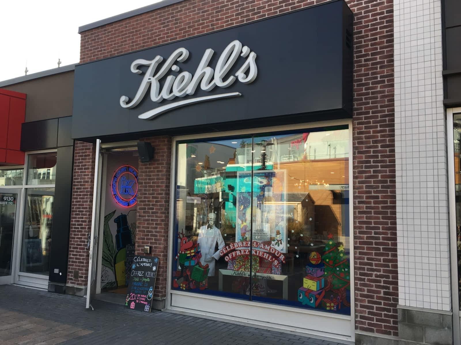 Kiehl's store at Quartier DIX30. Photo: Quartier DIX30