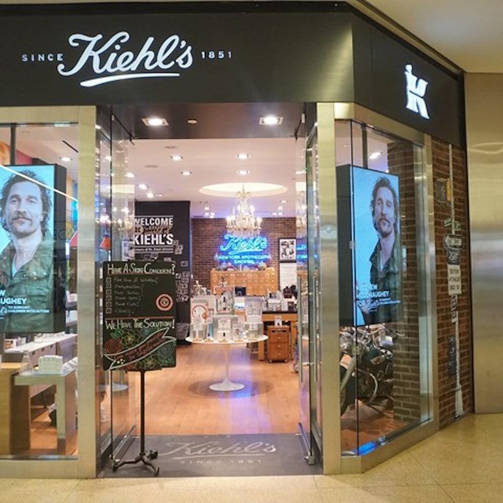 Kiehl's store at West Edmonton Mall. Photo: WEM