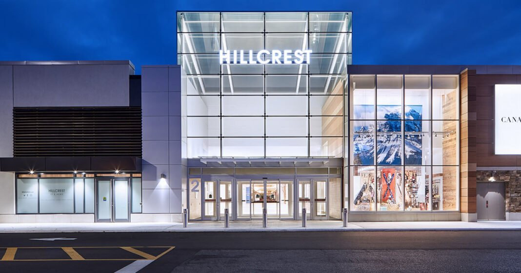 Exterior of Hillcrest Mall. Photo: Hillcrest Mall