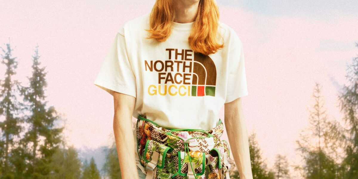The North Face x Gucci collaboration. Photo: Gucci