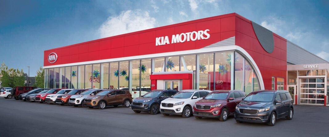 Rendering of Kia Motors Canada showroom. Rendering: Kia Motors