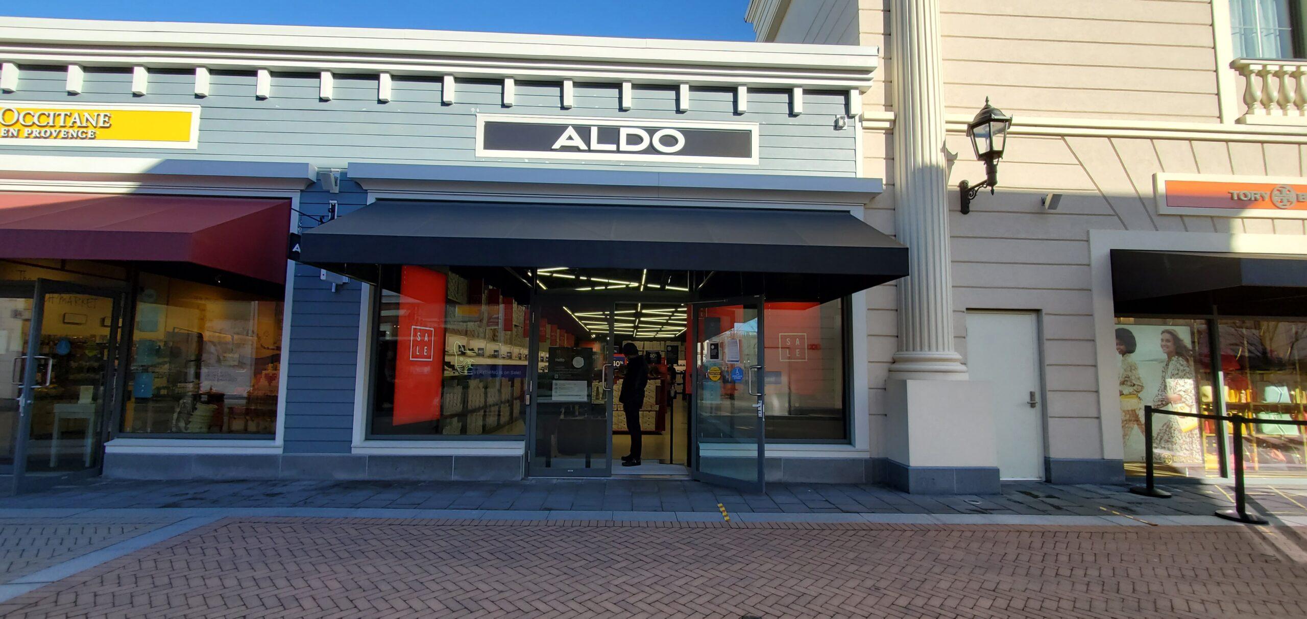 Aldo at McArthur Glen. Photo: Geetanjali Sharma