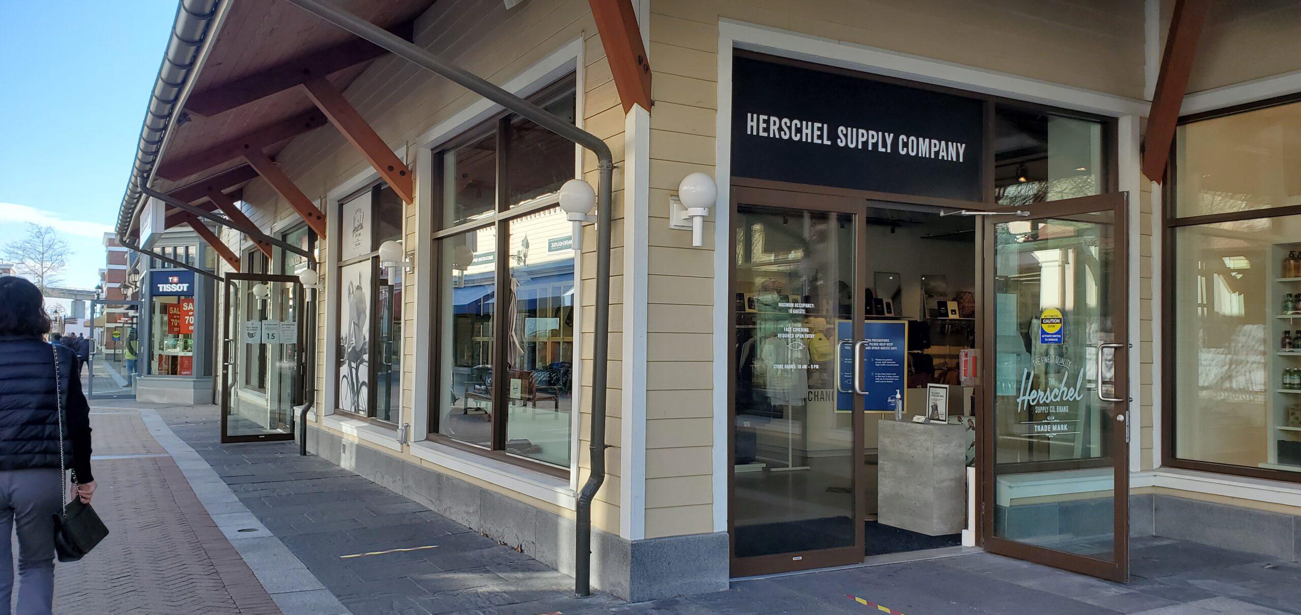 Herschel Supply at McArthur Glen Vancouver